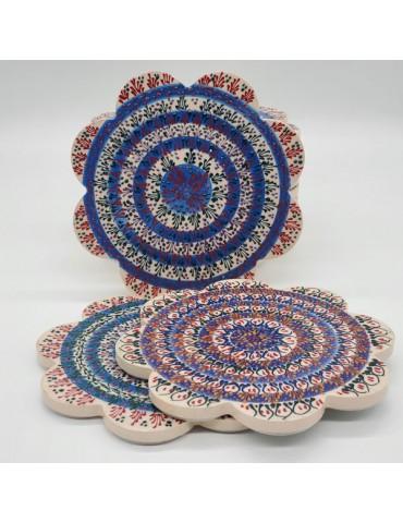 Blue Lace Trivets