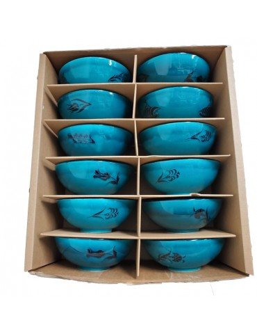 CB6 Turquoise Bowls