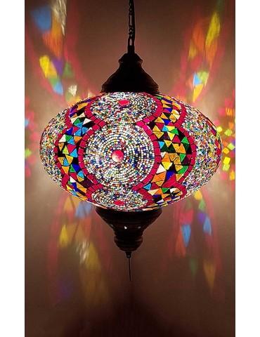 """Mosaic Hanging Lamps 14"""""""