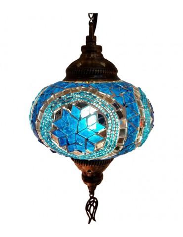 """Mosaic Hanging Lamps 6"""""""