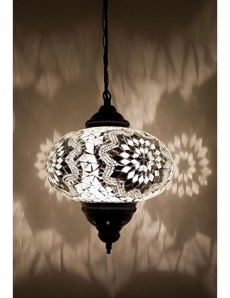"""Mosaic Hanging Lamps 9"""""""