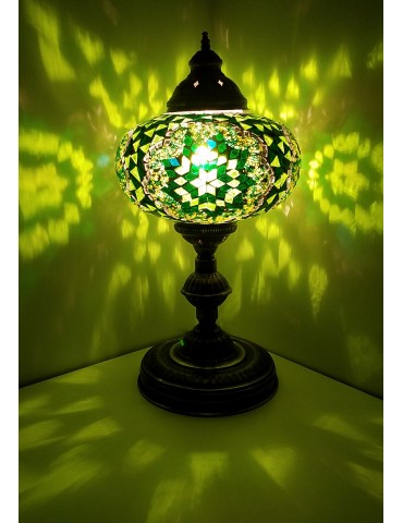 """Mosaic Table Lamps 14"""""""