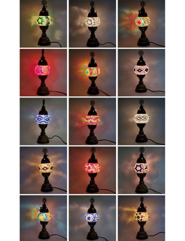 """Mosaic Table Lamps 4"""" TL4"""