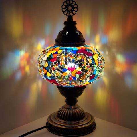 "Mosaic Table Lamps 6"" TL6"
