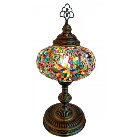 Mosaic Table Lamps 9""