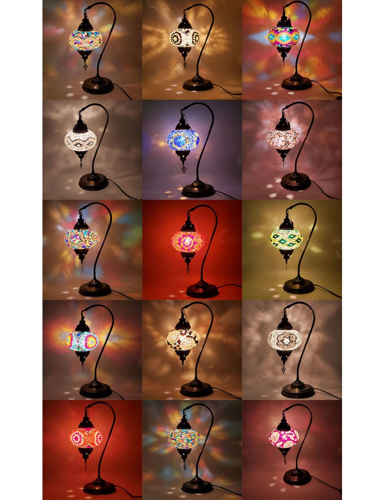 Half Heart Table Lamps TLD6