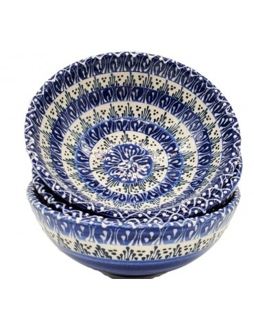 Lace Blue Bowl 5""