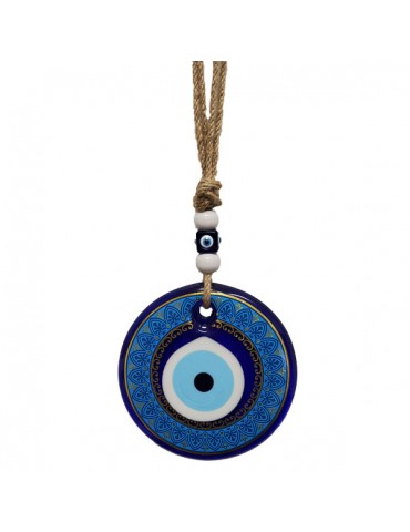 Lucky Eye Glass Small Hangings