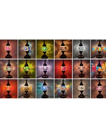 """Mosaic Table Lamps 5"""" TL5"""
