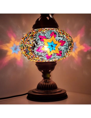 """Mosaic Table Lamps 7"""" TL7"""